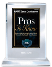 Supply & Demand Chain Executive's Pros To Know 2013