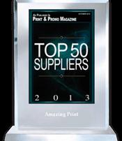 Slava Apel | Print and Promo Magazine Top 50 Suppliers 2013